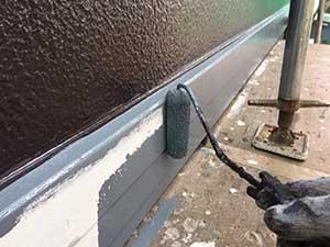 前橋市関根町Y様邸幕板塗装