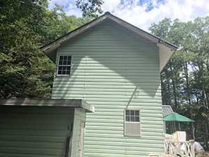 嬬恋村の別荘 外壁屋根塗装前1