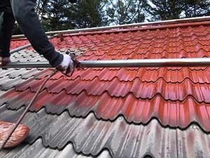 嬬恋村の別荘 外壁屋根塗装屋根下塗
