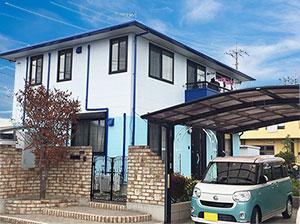 前橋市H様屋根外壁塗装完工2