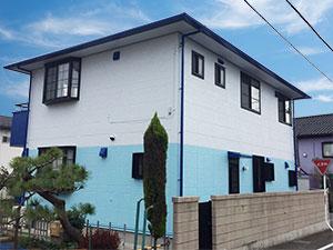 前橋市H様屋根外壁塗装完工3