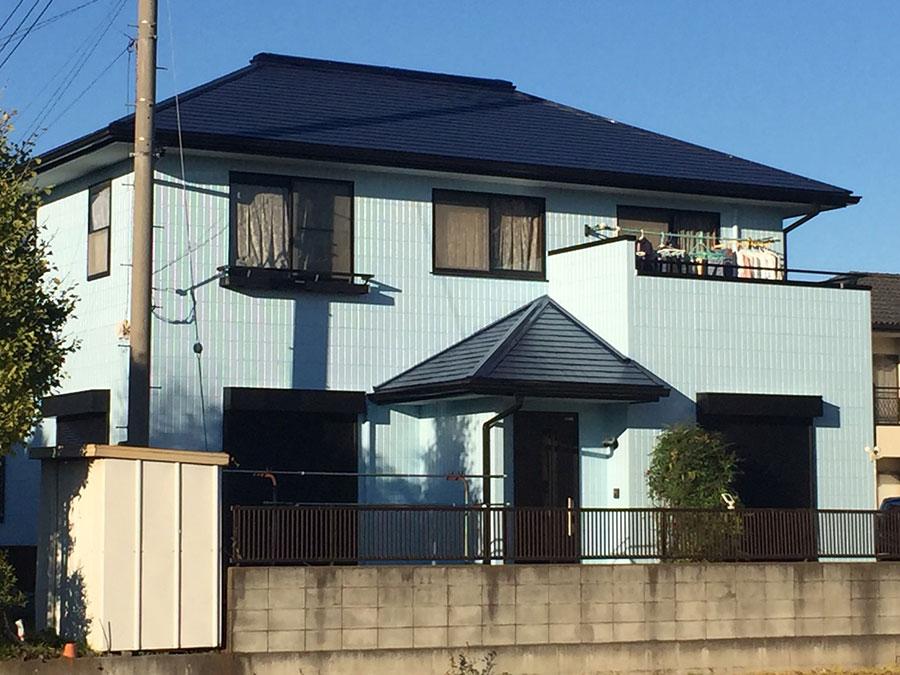 群馬県伊勢崎市外壁屋根塗装工事終了