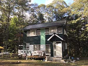 嬬恋村の別荘 完工3