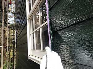 嬬恋村の別荘軒点検後の修正