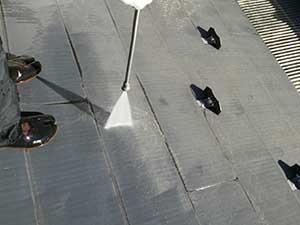 吉岡町 屋根高圧洗浄