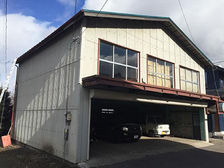 吾妻郡嬬恋村 倉庫兼ガレージ屋根塗装 施工前