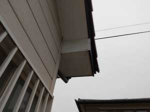 伊勢崎市 外壁塗装軒天