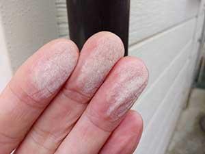 伊勢崎市 外壁塗装 チョーキング
