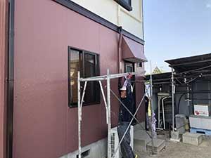 玉村町 外壁塗装 足場撤去