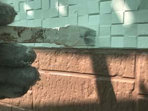 玉村町 壁上塗り