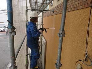 藤岡市 外壁洗浄