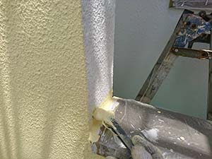 藤岡市 外壁塗装中塗り