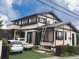 藤岡市屋根と外壁塗装完工