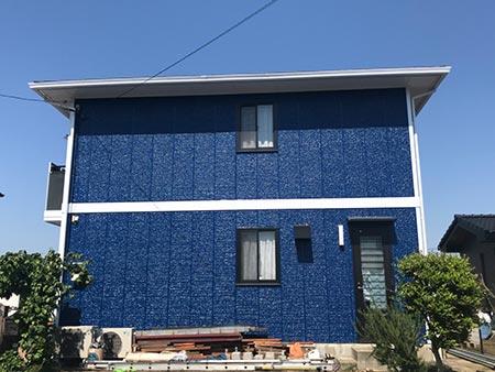 高崎市箕郷町 外壁 フッ素塗装後