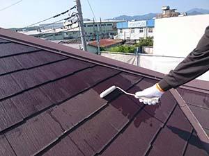 藤岡市 屋根下塗りシーラー
