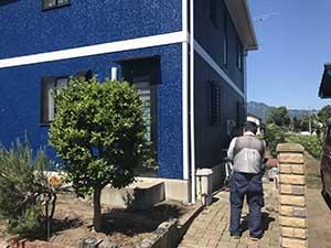高崎市箕郷町 外壁塗装工事 ジオ検査