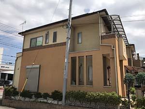 藤岡市 外壁屋根塗装 工事前