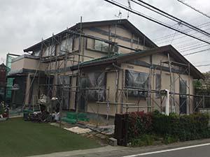 藤岡市 外壁屋根塗装 完工