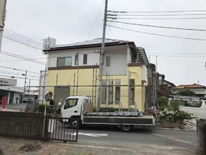 藤岡市 外壁屋根塗装 足場撤去