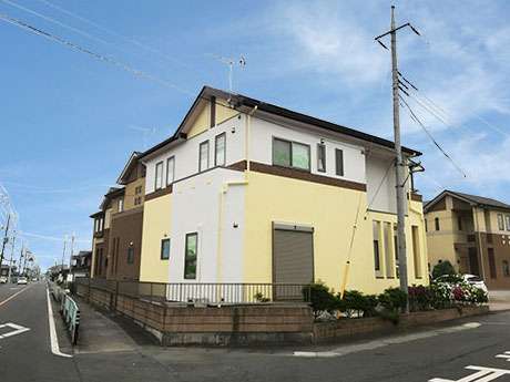 藤岡市 外壁屋根塗装 完了