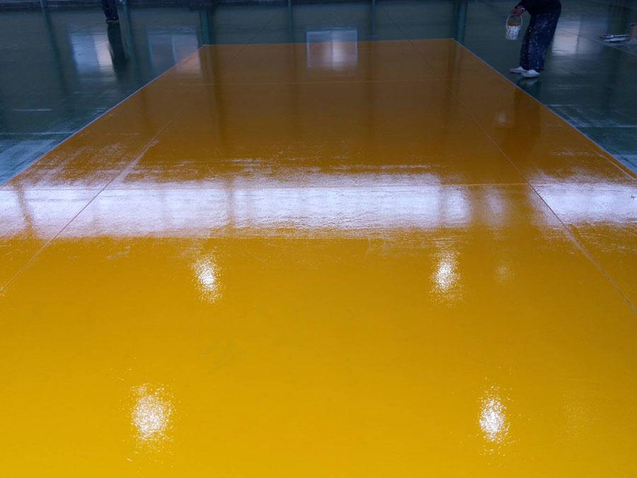 太田市 工場床塗装 施工事例