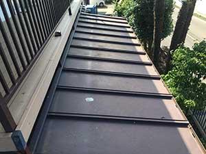 前橋市富士見町 金属屋根塗装