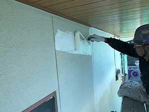 埼玉県上里町 外壁下塗り