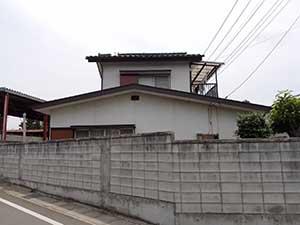 前橋市富士見町 棟瓦取り直し工事