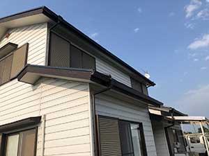 前橋市富士見町 屋根塗装完成