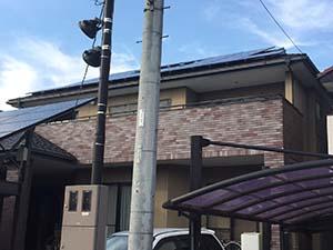高崎市高関町 外壁塗装前