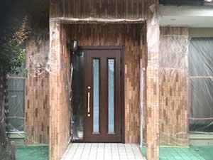 埼玉県上里町 玄関ドア交換