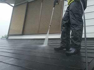 前橋市富士見町 屋根塗装 洗浄