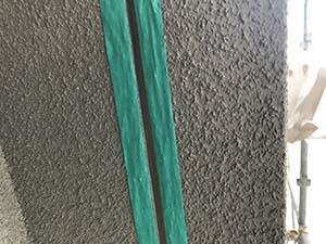 高崎市高関町 コーキング打ち替え マスキングテープ貼り