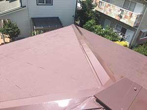 佐波郡玉村町 屋根塗装終了