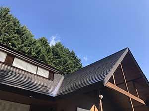 軽井沢町南ヶ丘 別荘外壁屋根塗装 完工