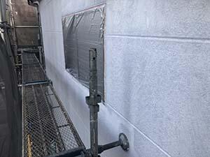 前橋市三俣町 外壁下塗り