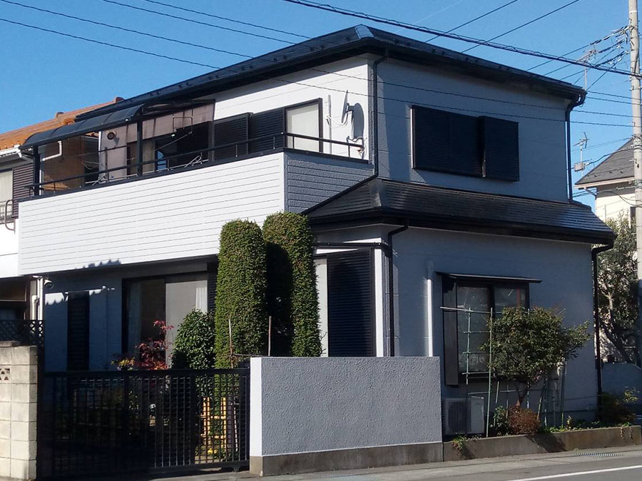 前橋市三俣町 外壁屋根塗装 施工事例