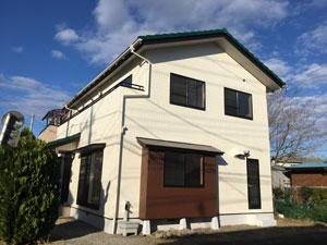 前橋市岩神町 外壁屋根塗装完工