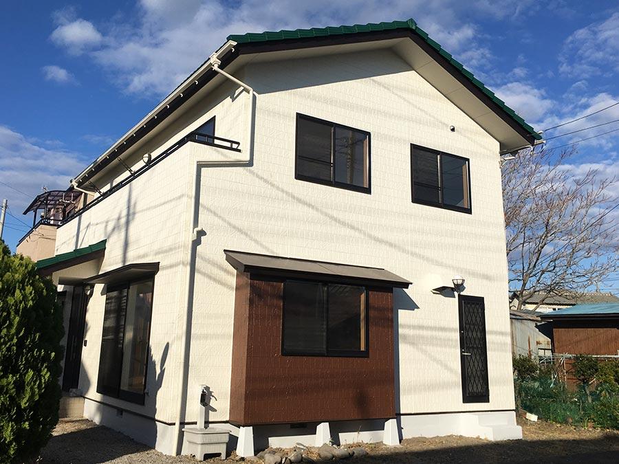 前橋市岩神町 外壁塗装・屋根塗装 施工事例