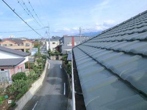前橋市富士見町 雪止め取り付け前