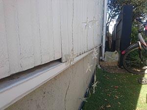 高崎市上中居町 外壁屋根塗装 サイディング下がり