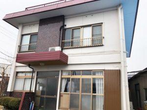 桐生市 屋上フローン防水、外壁塗装 施工事例