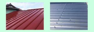 トタン屋根のメンテナンス