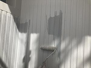 高崎市上中居町 壁中塗り