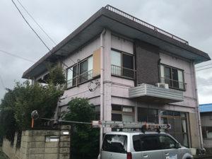 桐生市 外壁塗装前