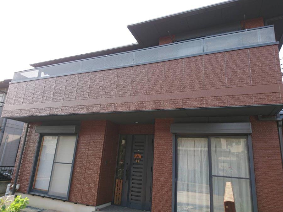 高崎市新町 窯業系サイディング塗装 施工事例