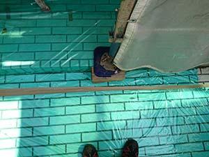 前橋市天川大島町屋根外壁塗装 養生
