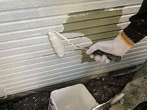 高崎市東町 外壁下塗り