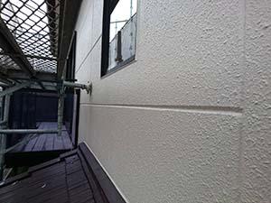 高崎市東町 外壁上塗り後