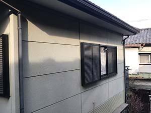 高崎市東町 セメント瓦とサイディング塗装